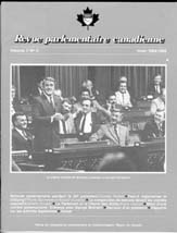 Canadian Parliamentary Review Cover